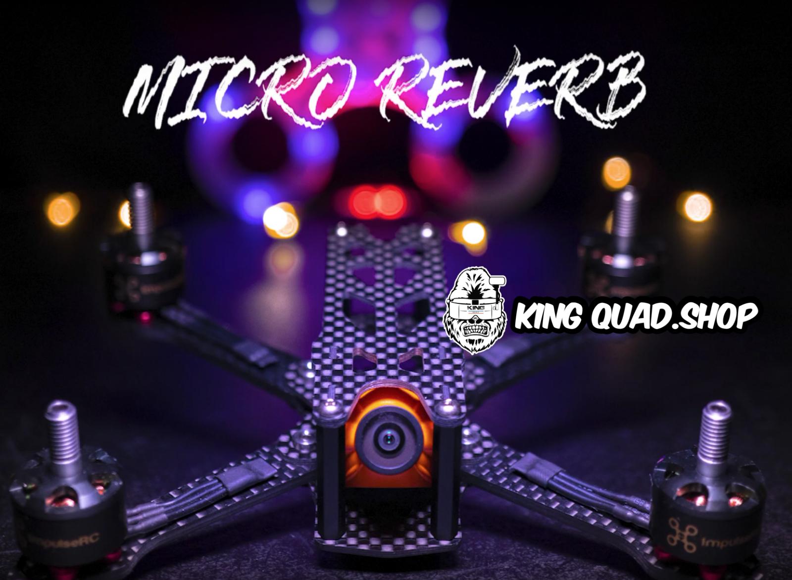 Impulserc  Micro Reverb 7.6cm FPV Telaio  forma unica