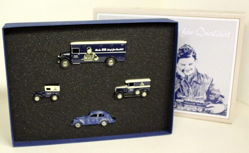 Bub 1 87 échelle 06934 10 Jahre Bub DIXI granit en autocar KB5 Diecast voiture modèle Set