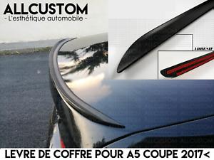 SPOILER-BECQUET-LEVRE-LAME-COFFRE-pour-AUDI-A5-COUPE-F53-2017-lt-S5-SLINE-QUATTRO