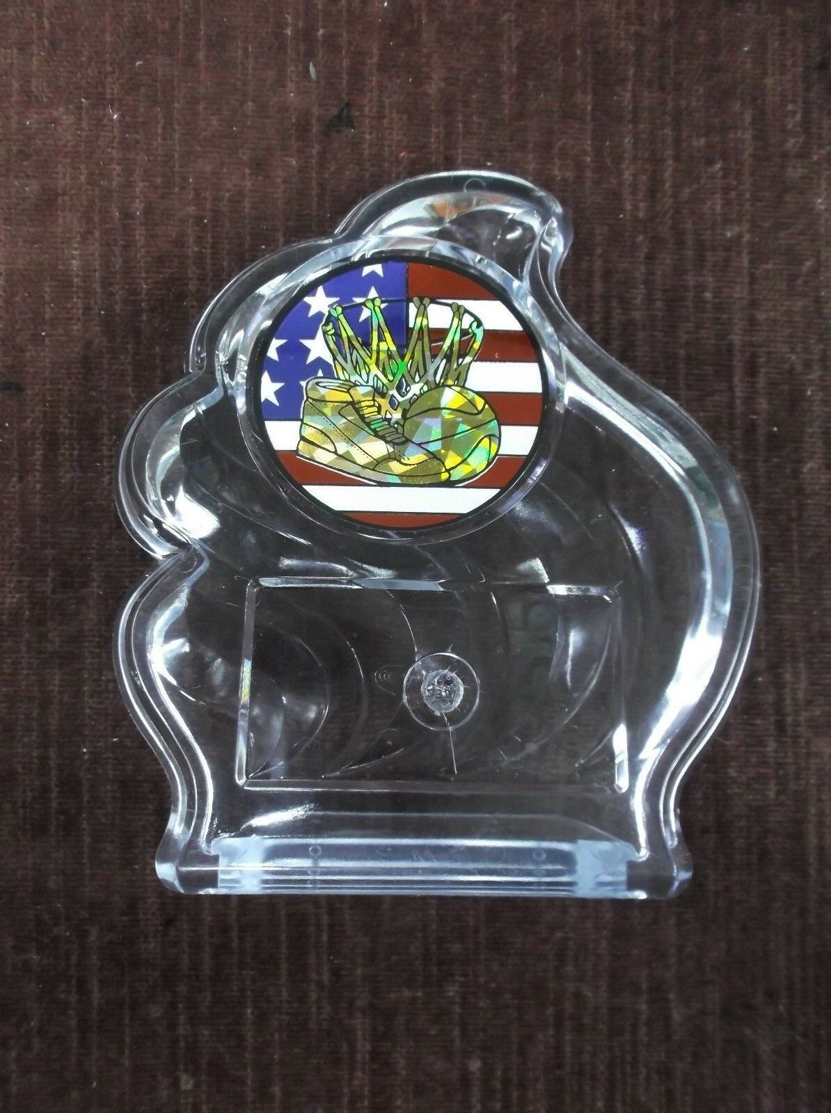 Team Lot av 20 BASKETBAL trofé klar akrylvågspris patriotisk infoga