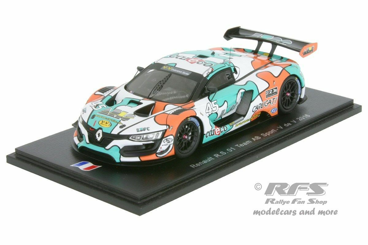 Renault r.s.01 4h paul ricard 2016-thybaud Jousse proust 1:43 spark sf 101 | Mode Attrayant