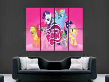 MY LITTLE PONY  GIANT WALL POSTER ART PICTURE PRINT LARGE HUGE ""