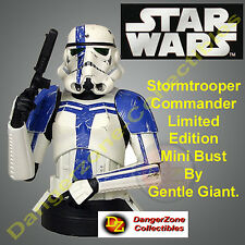 Star Wars Stormtrooper Commander Mini Bust by Gentle Giant - NEW