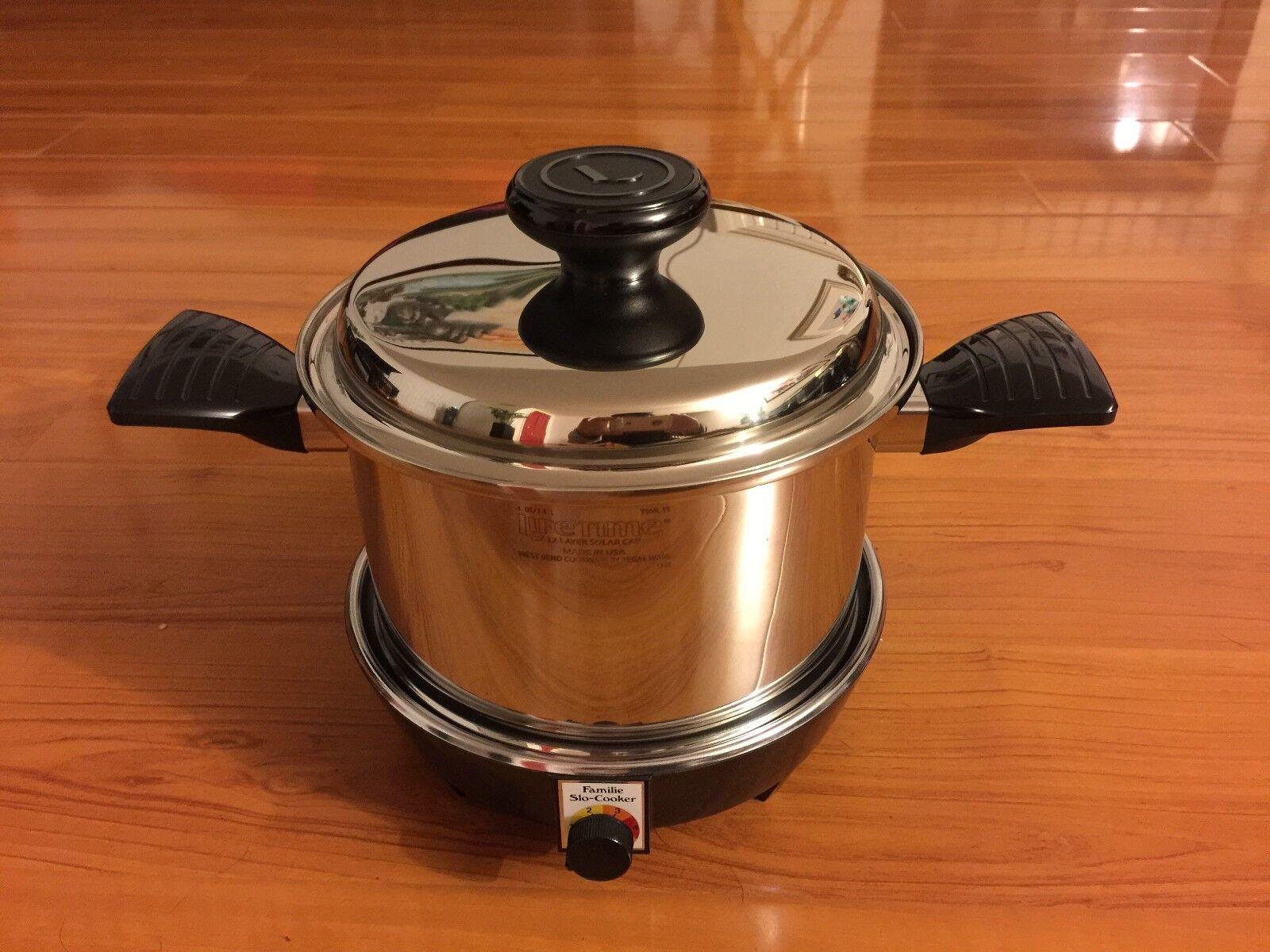NEUF Lifetime 12 Couche en Acier Inoxydable Waterless Cookware