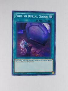 NM Foolish Burial Goods DASA-EN058 1st Edition Spell Card