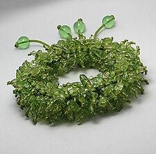 Natural Green Peridot Gemstone Bracelet Stylish Couture Piece Fun & Fabulous $95