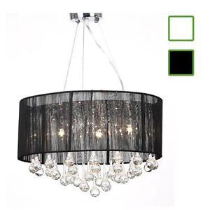 kristall kronleuchter l ster deckenleuchte h ngeleuchte lampe 3 flammig neu glas ebay. Black Bedroom Furniture Sets. Home Design Ideas