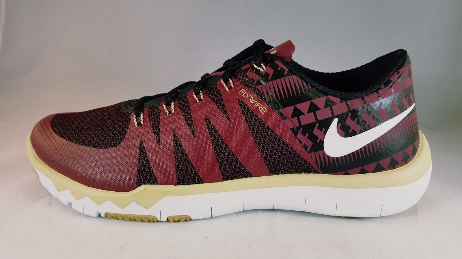 Nike Free TR 5.0 V6 AMP Florida State Mens Training shoes 723939 706 Size 10.5
