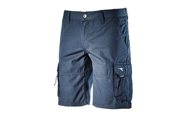Bermudas Wonder II Diadora pantalones cortos cargo de trabajo blue t. XL