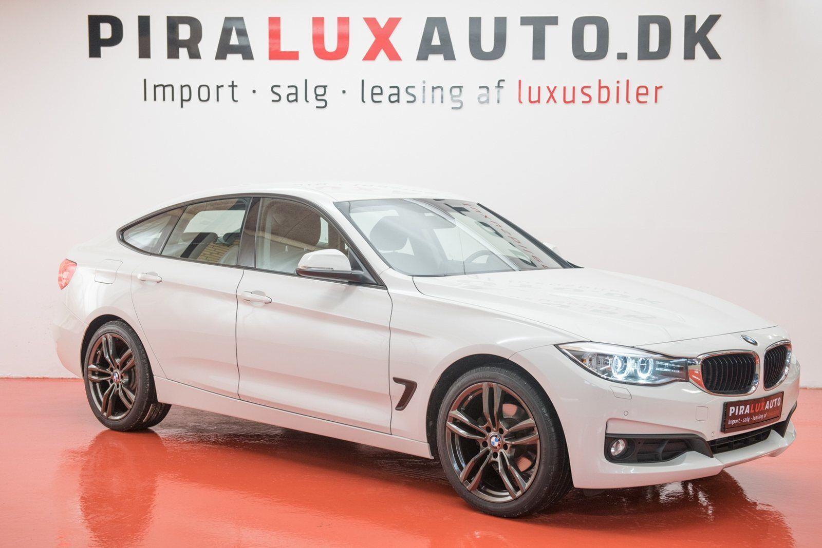 BMW 320d 2,0 Gran Turismo aut. 5d - 304.900 kr.