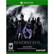 Resident Evil 6 HD USED SEALED (Microsoft Xbox One, 2016)