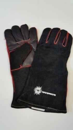 Welder Gloves Welding Pro Professional Black MIG MAG Heat Glove gr10