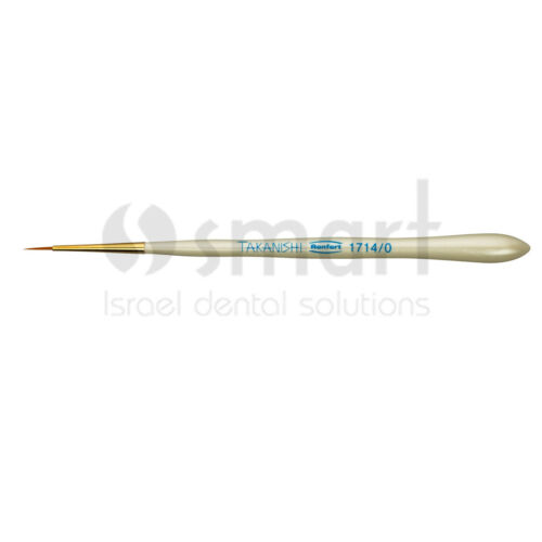 Lot x 6 Renfert Dental Lab ceramic brush premium Synthetic hair №0-8 Takanishi