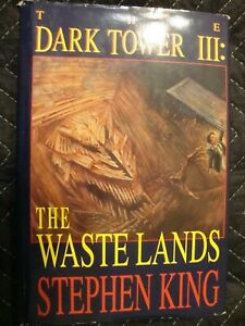 The-Waste-Lands-Dark-Tower-3-Stephen-King-GRANT-Hardcover-True-1st-Edition-SK35