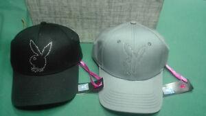 sulle immagini di piedi di vendita ufficiale Acquista autentico Dettagli su Cappello playboy con visiera colori a scelta grigio o nero con  strass