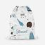Personalised Spaceship Rockets Boys Kids Drawstring Bag PE Swimming School Bag