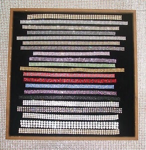 4mm-3STRIP-IRON-ON-CHATON-CRYSTAL-diamante-BLING-WEDDING-REEL-ribbon-chain-rope