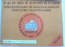 INDIA 10 RUPEES 2008 GUR TA GADDI HYDERABAD MINT FOLDER 1 ORIGINAL PACK