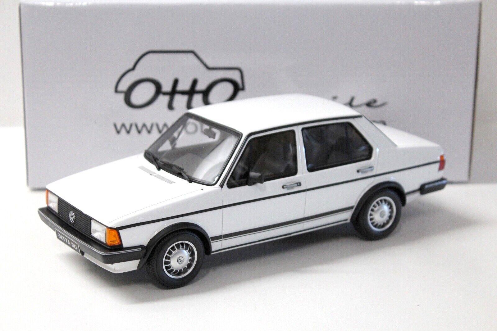 1 18 Otto VW Jetta mk1 GLI Sedan blanc 1983 NEW chez Premium-modelcars