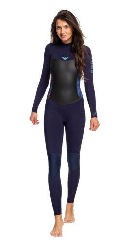 3//2mm Women/'s Roxy SYNCRO Sealed Full Wetsuit