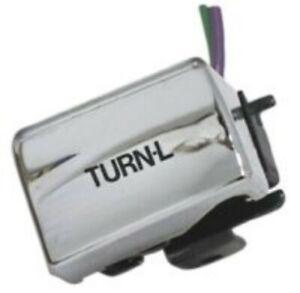 V-Factor 15120 Chrome Left Turn Signal Switch fr Harley Big Twin Sportster 82-95