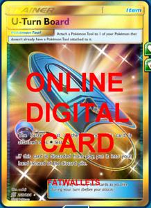 4X U-Turn Board 211//236 Unified Minds Pokemon TCG Online Digital Card