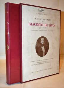 Simple Biografia Mascia Vita E Opere Giacinto De' Sivo 1966 Berisio Storia Due Sicilie