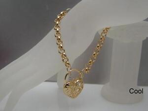 Bracelet-en-or-jaune-18-carats-avec-medaillon-en-forme-de-medaillon