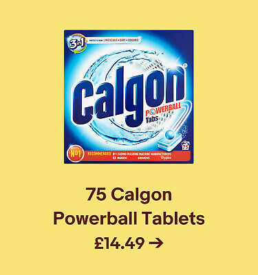 75 Calgon  Powerball Tablets £14.49