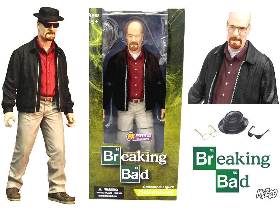 Action Figure Breaking Bad Heisenberg Walter bianca 12-Inch PX exclusive Mezco