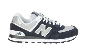 Image is loading New-Balance-Mens-Sneakers-Classics-574-Navy-Grey-