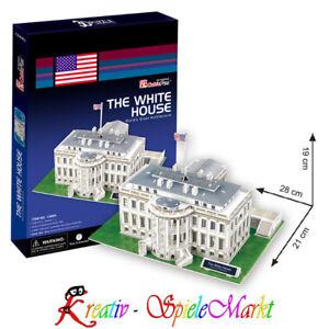 Modellbausätze Metalearth Spielzeug 3d Puzzle The White House Weißes Haus Washington Usa Spezieller Kauf