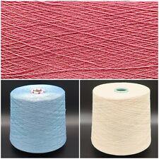 Kg 50/% Baumwolle Tiefpreis Garn zum Häkeln LL 400m 2.700g Farb-Mix 10€