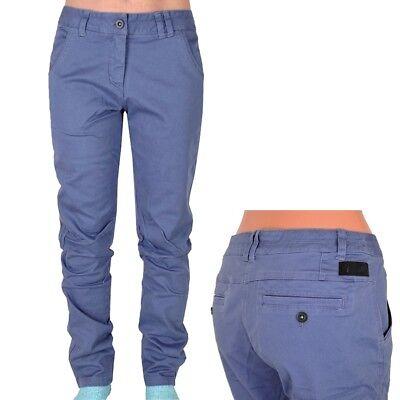 Competente Adidas Urban Hike Pant Donna Pantaloni Outdoor Wanderhose Chino Strech Blu/grigio-mostra Il Titolo Originale Materiali Superiori