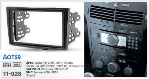 2004-2010 Antara Corsa D H Car Radio Fascia for OPEL Astra 2006+ Zafira
