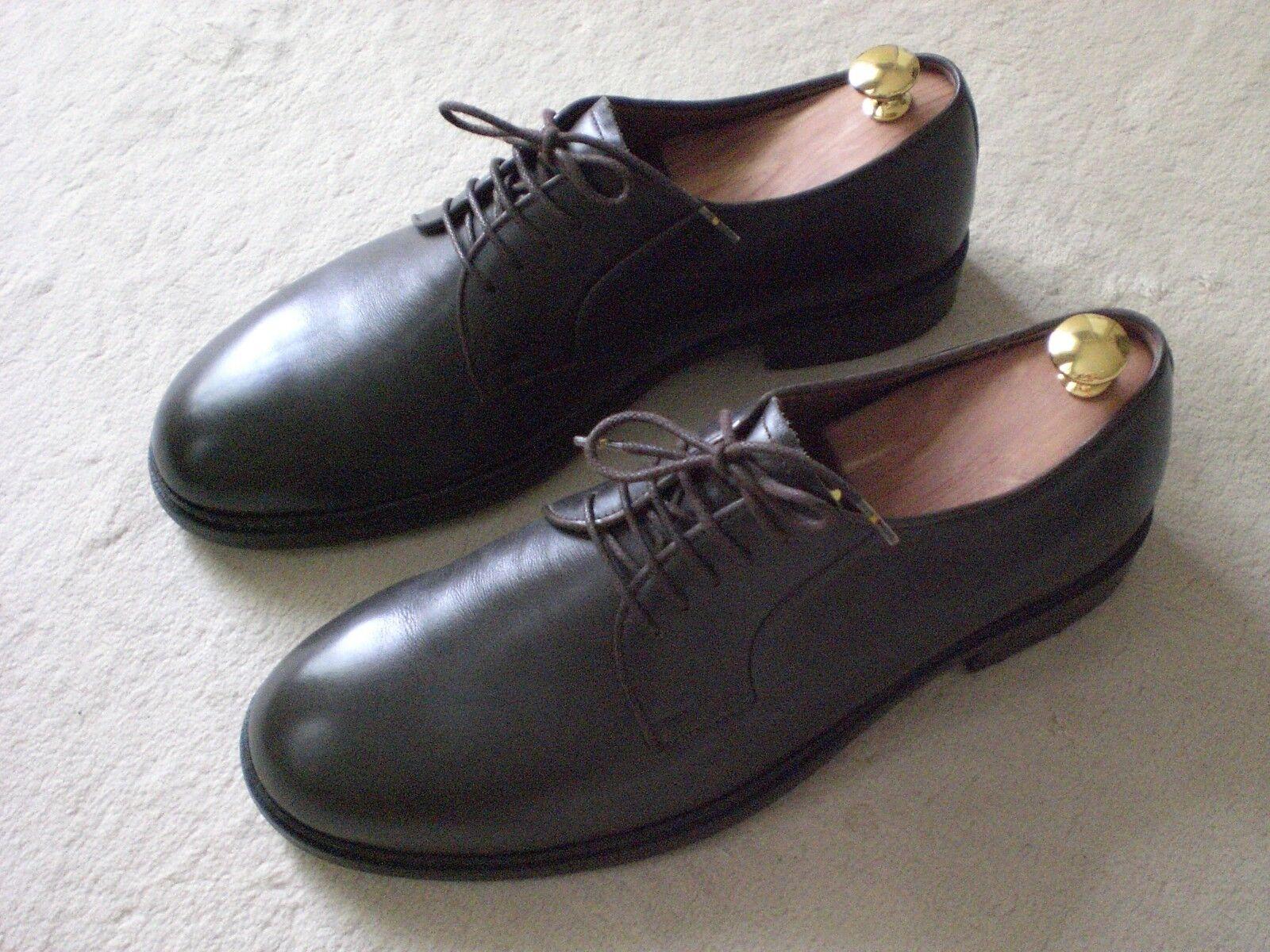 MEISTERSCHUH Business Schuhe Herren Gr. 43 braun Leder elegant *MAßANFERTIGUNG*