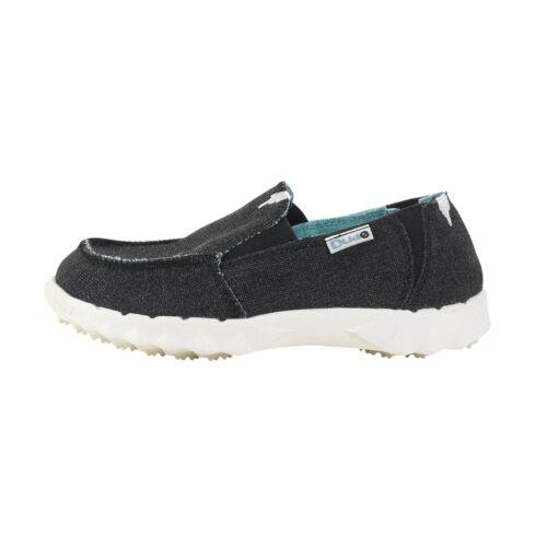 Mule Hey Dude Shoes Farty Kids Black Slip On