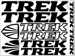 TREK Vinyl Decals Autocollants Cadre de Vélo Cycle Cyclisme Vélo MTB Route