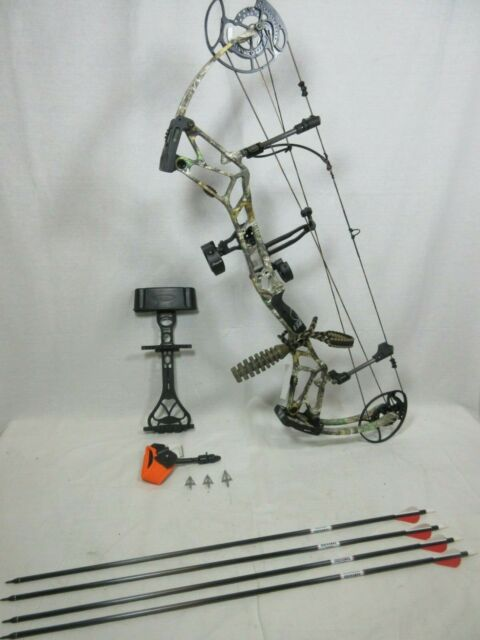 """Bowtech Carbon Icon R.A.K Bow Package /""""Includes Bonus Accessories/"""" BRAND NEW"""