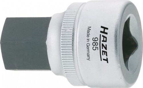 HAZET Steckschlüsseleinsatz 19mm 1//2 Zoll 12,5mm Sechskant 985-19