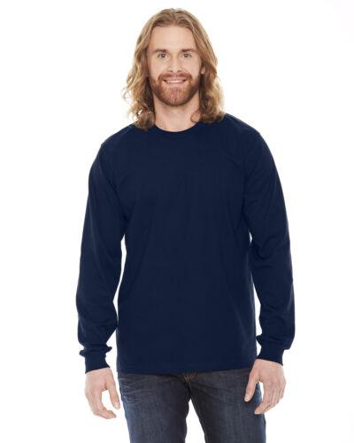 American Apparel Mens Fine Jersey Long-Sleeve T-Shirt 2007