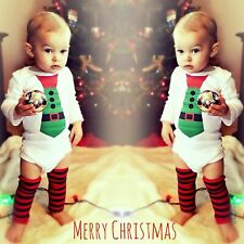 Leg Warmers Newborn Toddler Children Baby photo prop boy girl Christmas red ivo