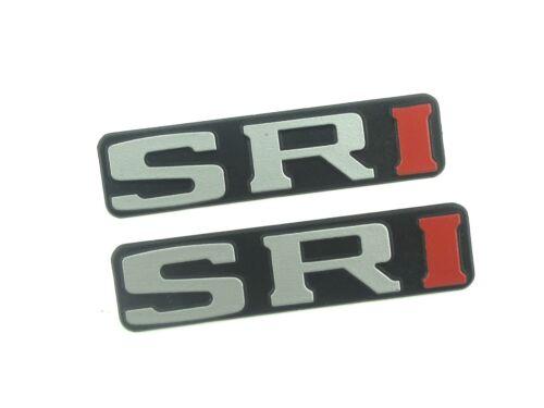 Genuine New Rare PEUGEOT SRi MUD FLAP BADGES Emblem 106 306 205 605