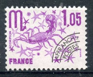 TIMBRE-FRANCE-NEUF-PREOBLITERE-148-SIGNE-DU-ZODIAQUE-SCORPION