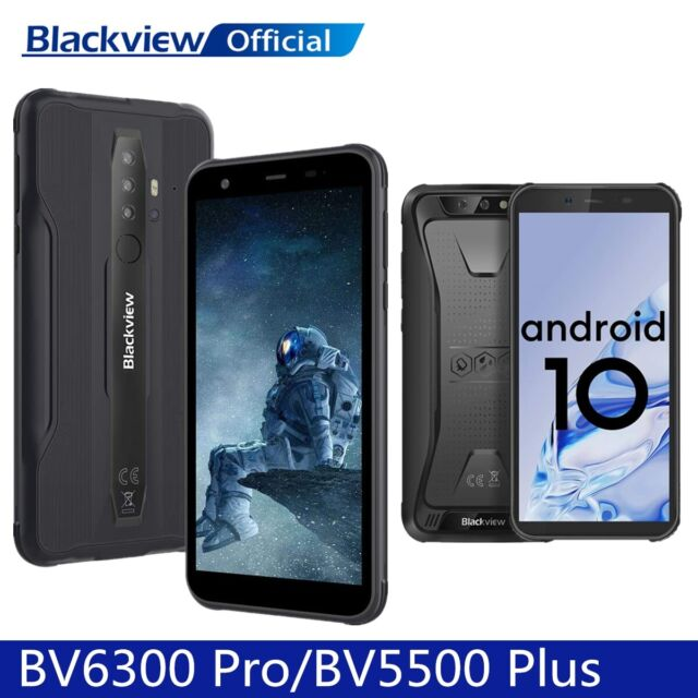 Blackview BV5500 Plus BV6300 Pro Smartphone Debloque Téléphone Dual SIM Rugged
