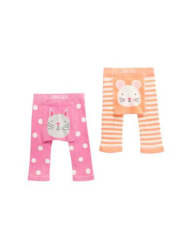 JOULES Tom Joule Baby 2er Pack Strick-Leggings Katze /& Maus Gr.3-24 Monate NEU