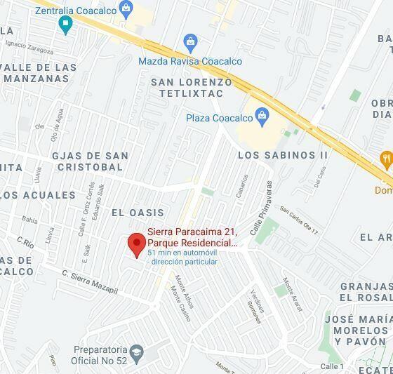 REMATE BANCARIO CASA PARQUE RESIDENCIAL COACALCO
