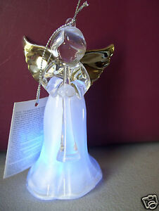 Led Light Color Changing Angel 4 Tall Figurine Or Tree