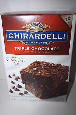 GHIRARDELLI Triple Chocolate BROWNIE MIX 3.4kg box