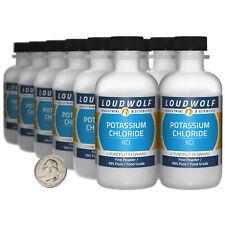 Potassium Chloride 3 Pounds 12 Bottles 99 Pure Food Grade Fine Powder